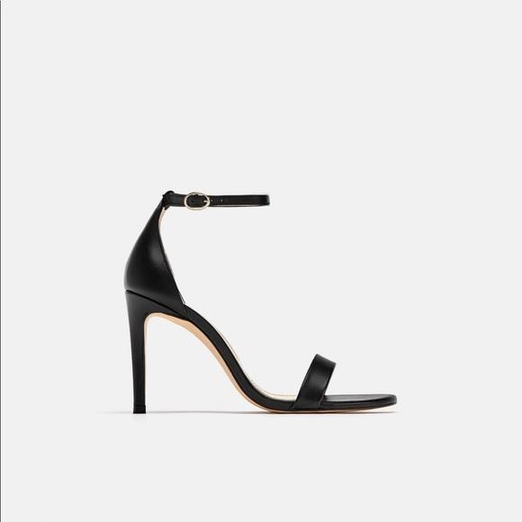 Zara Shoes | Zara Black High Heel